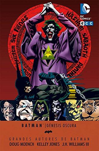 Grandes autores de Batman: Doug Moench y Kelly Jones - Genesis Oscura