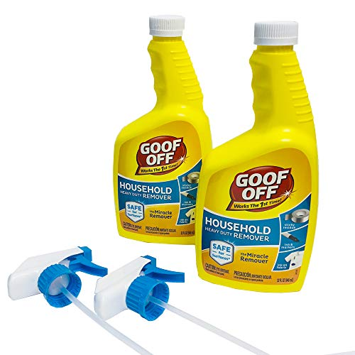 Goof Off FG659AM Heavy Duty 32oz (2 Count) Remover, Yellow
