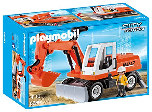 Excavadora de juguete City Action de Playmobil