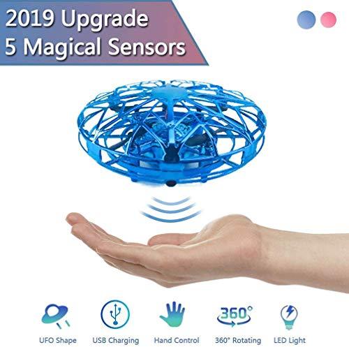 UFO Smart Sensor Aircraft Gesture Mini Drone Gift Toy Giocattoli per Bambini Blu