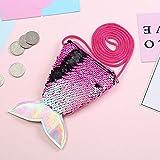 Plush Backpacks - 2019new Fashion Stock Mermaid Women Girl Children Sequins Money Hand Cute Bag Coin Wallet Purse Princess Sweet Gift - by TimothyEU - 1 PCs