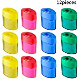Best Sharpeners - Zonon Double Hole Oval Shaped Pencil Sharpener Review