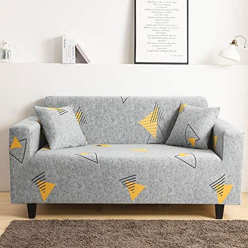 KKDIY Luanqi Cover Funda de sofá Funda de sofá Universal de Alta Elasticidad Funda Suave Ultrafina Funda de poliéster Spandex-031-61-64,2Seater 145-185 cm