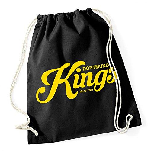 Certified Freak Dortmund Kings Gymsack Black