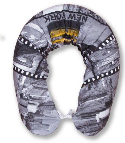 Amilian® XXL Bezug für Stillkissen Baby Lagerungskissen Lang Seitenschläferkissen 170 cm New York