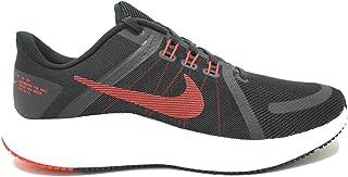 Nike Men's Quest 4 Running Shoe, Black/University red-White-dk Smoke Grey, 10 UK