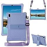 Étui de protection fin et souple en silicone résistant aux chocs pour tablette Samsung Galaxy Tab...