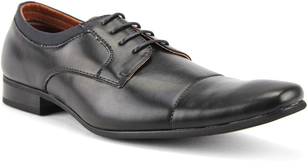 Men's 19107AL Classic Cap Toe Lace Up Oxfords Dress Shoes