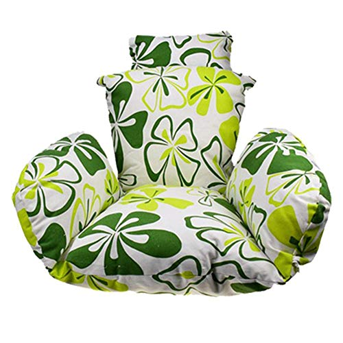 Columpio colgante para silla de columpio con almohada, cojín para silla de jardín de patio