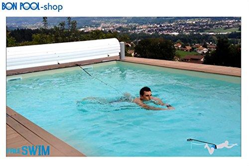 Free SWIM Schwimmgurt Spaß Aqua Fitness wie Gegenstromanlage BONPOOL®