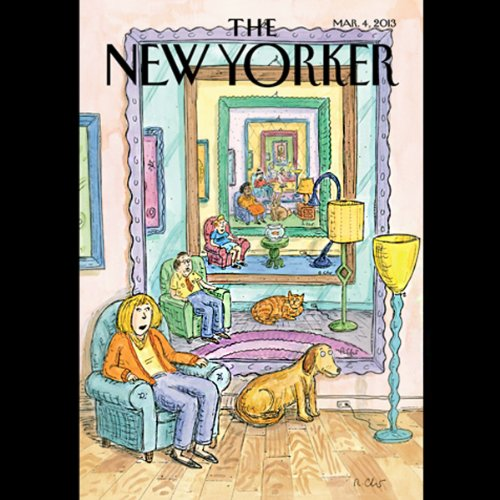 Couverture de The New Yorker, March 4th 2013 (Ryan Lizza, Rachel Aviv, James Surowiecki)