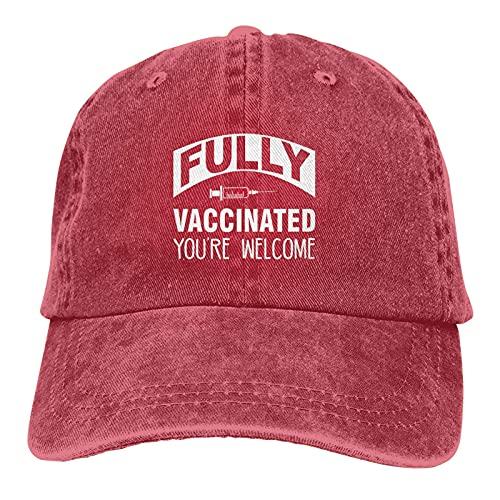 Gorra de béisbol de algodón totalmente vacunada para actividades al aire libre