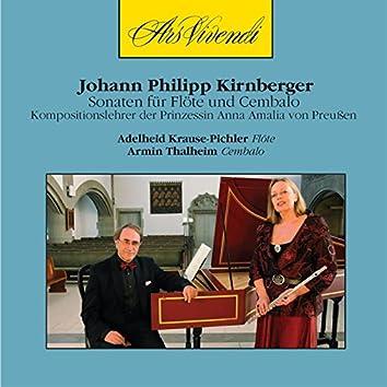 Johann Philipp Kirnberger: Sonatas for Flute and Harpsichord