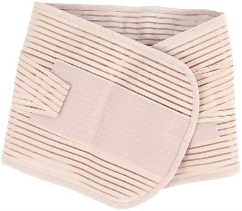 HUIFA Men and Women Skin color Breathable Sports Belt Comfort Steel Belt Support Belt Training Massage Belt (Size   L)