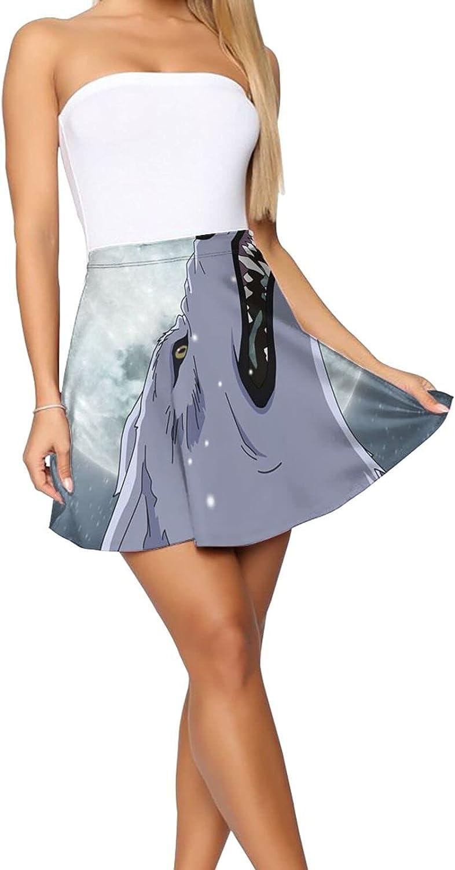 Yin-Yang Women's Short Skirt Stretch Waist Casual Ultra Skirt