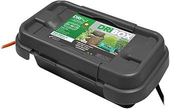 Dri-Box FL-1859-200 IP55 Weatherproof Box, Black, Small
