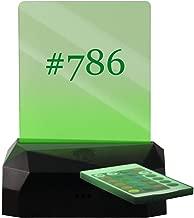 #786 - Hashtag LED Rechargeable USB Edge Lit Sign