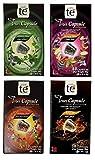 40 Nespresso Compatible Pods - Tea Variety Pack: Earl Gray Tea, Marrakech Green Tea, Spiced Chai Tea and Forest Fruit Tea (1 box each / 10 pods per box)