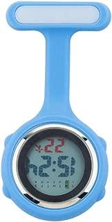 Grow0606 Multi-Function Digital Silicone Nurse Doctor Gift Fob Pocket Watch