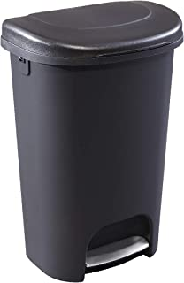 Rubbermaid NEW 2019 VERSION Step-On Lid Trash Can for Home, Kitchen, and Bathroom..