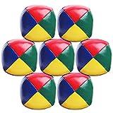 Elcoho 7 Pack Beginners Juggling Balls Bolas de Malabares fáciles y duraderas para niños y Adultos (Color 1)
