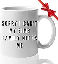Video Games Joke Coffee Mug 11 Oz Funny Ceramic Novelty Tea Cup - Unique Quote Gift Idea For Gamer Birthday Christmas Present Anniversary Kids   White