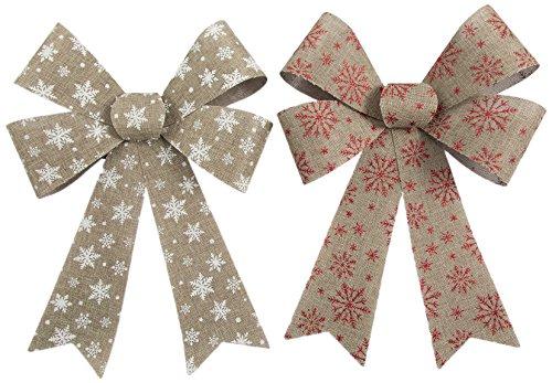 Galileo Casa Noël Set de Flocons, aléatoire, 4 x 14 x 20,5 cm, 2 unités