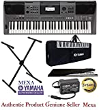 Yamaha PSR-I500 Keyboard 61-Keys Digital Portable Touch Sensitive With Gig Bag, Stand, Dust Cover &...