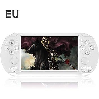 NAKELUCY Consola de Juegos portátil, PSP Double Rocker Consola de Juegos portátil X9-s 8G Consola de Juegos Retro Pantalla Colorida Puzzle para niños 5.1 Pulg.: Amazon.es: Hogar