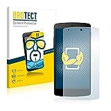 brotect Pellicola Protettiva Compatibile con Google Nexus 5 Pellicola Trasparente (2 Pezzi) Anti-Impronte