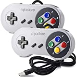 miadore 2x Classic USB Gamepad Retro Controlador USB de juegos SNES para Windows, PC, Mac y Raspberry Pi System