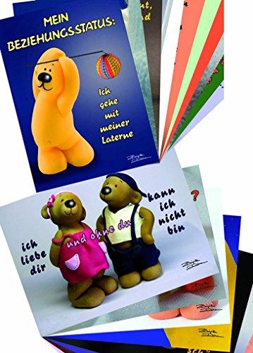 tatzino 9 Postkarten Sammler Kollektion Thema Liebe Mehrwert 9 Motive C6