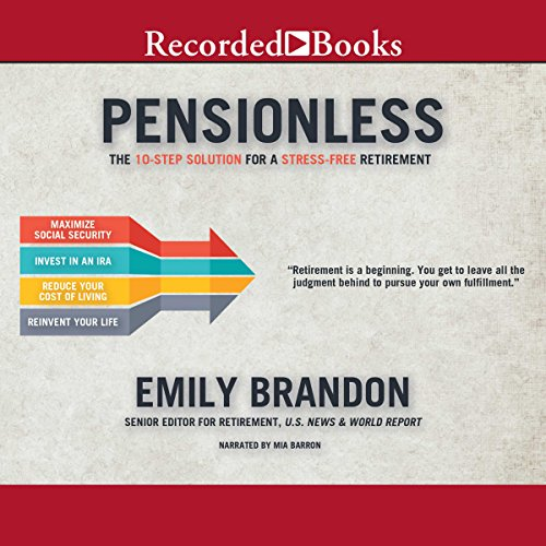Pensionless audiobook cover art