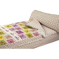 Montse Interiors, S.L. - Saco Nórdico Estampado Princesas, Modelo Little Princess, para Cama de 90x190/200