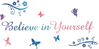 ADECALS Believe in Yourself Wall Decal Vinyl Inspriational Sticker Home Art Decor