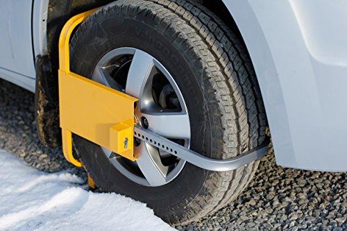 HP-Autozubehör 10053 Parkkralle Profi - Reifen Diebstahlsicherung