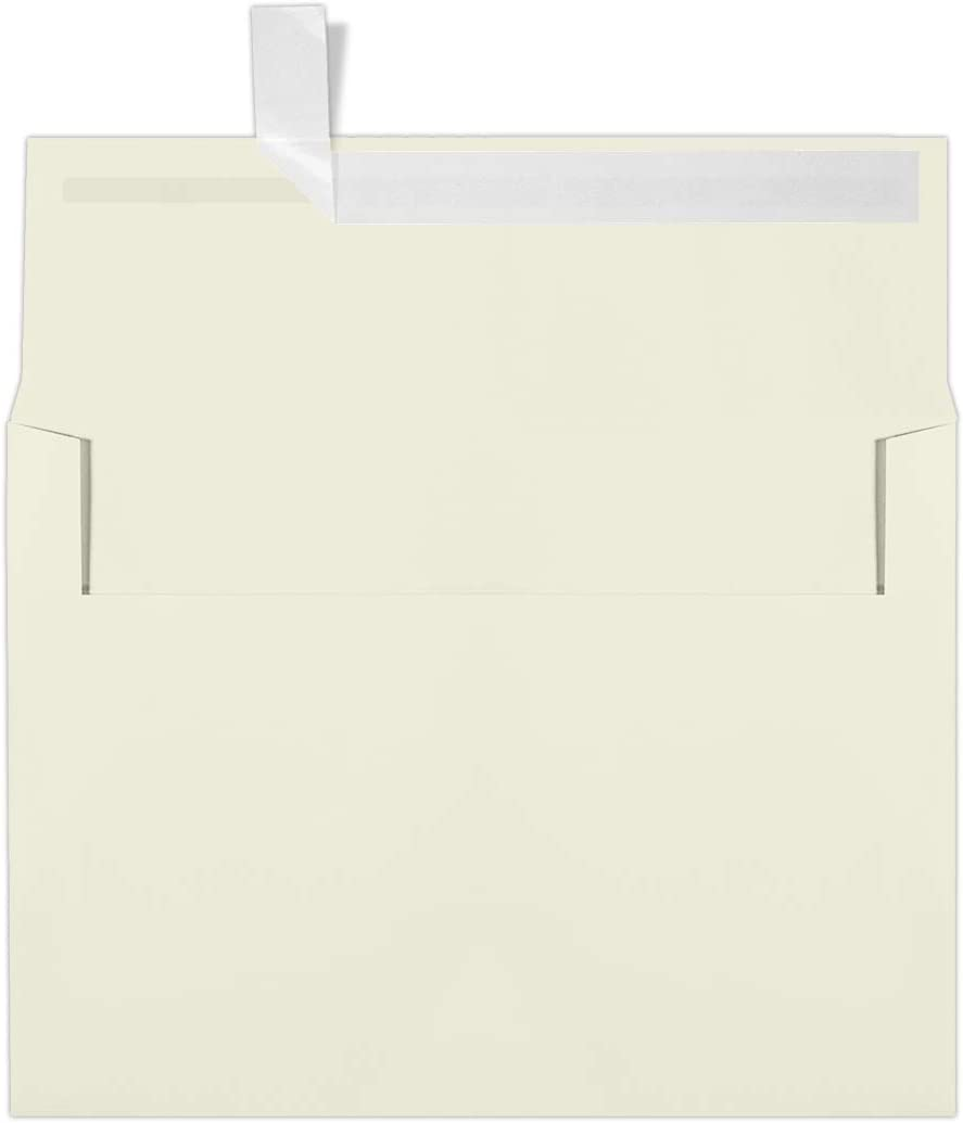 LUXPaper A7 1 2 Square Flap Self Sealing 100% quality warranty! RSVP Card Envelopes for Free shipping anywhere in the nation