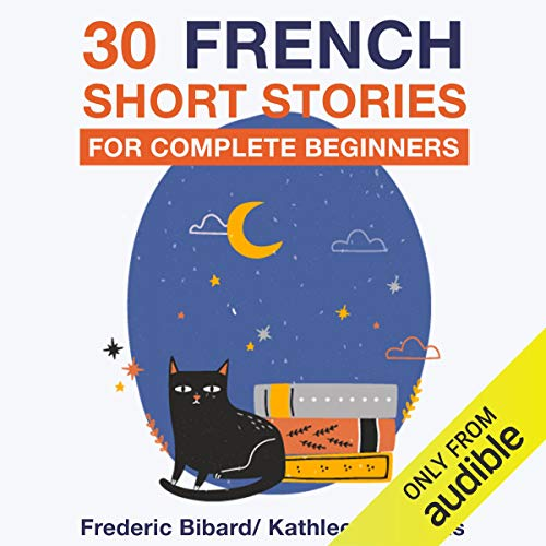 30 French Short Stories for Complete Beginners cover art