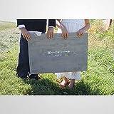 Alternatives Gästebuch-Schild aus Holz, rustikales Gästebuch, Bauernhof, Hochzeitsdekoration,...