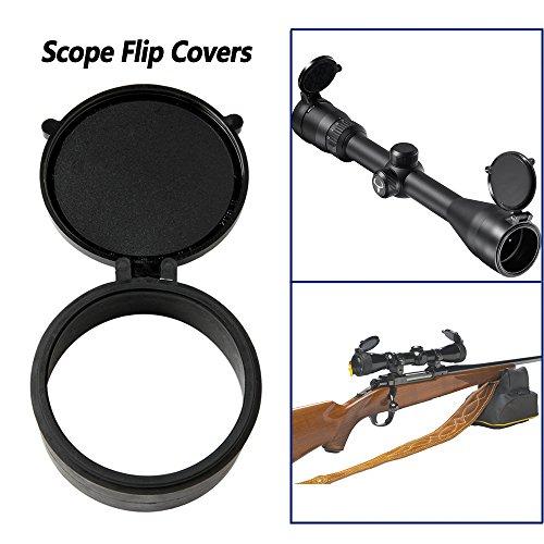 WEREWOLVES Flip-Open Scope Cover wasserdichte und staubdichte Abdeckung (Size08-40mm/1.57inch)