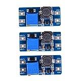 DGdolph 0.9V-5V a 5V DC-DC M/ódulo de Refuerzo USB M/ódulo de Fuente de alimentaci/ón Step-Up m/óvil Azul