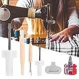 5 Unids/Set Kit de Mantenimiento de la Máquina de Coser, Destornillador Extracción de Rosca...