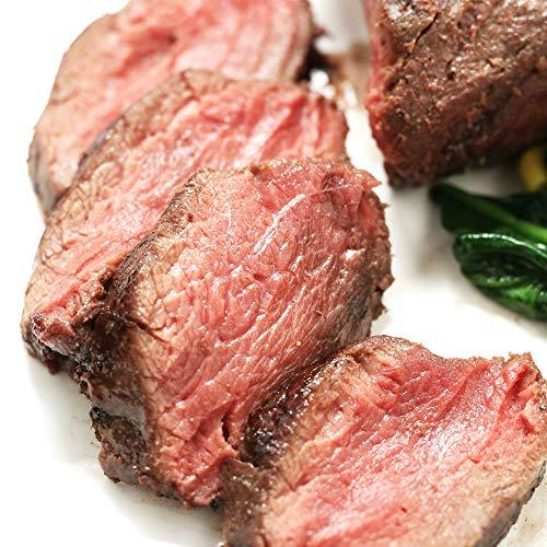ミートガイ カンガルー肉 サーロインブロック (約450g) (ギフト対応) (オーストラリア直輸入品) ジビエ ヘルシー ルーミート Kangaroo Striploin Block