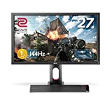 BenQ ゲーミングモニター ディスプレイ ZOWIE XL2720 27インチ FullHD/TNパネル/144Hz/1ms/Black eQualizer/S.Switch/DVI-DL/DP/HDMI1.4x2