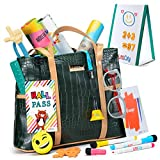 Litti City Learning & Education Toys Pretend Play Teacher Set Includes Bag whiteboard Markers and More Hours of Fun with This Interactive Play Learning Toys for 3 Year olds and up.