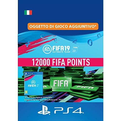 FIFA 19 Ultimate Team - 12000 FIFA Points   Codice download per PS4 - Account italiano