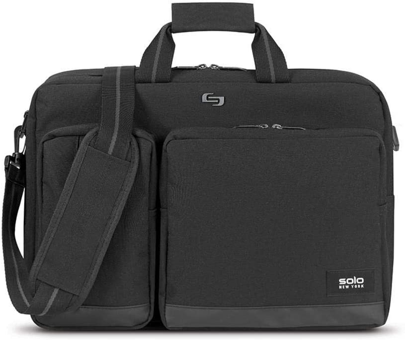 Solo New Super sale York Duane Columbus Mall Hybrid Laptop Convertible Black Briefcase