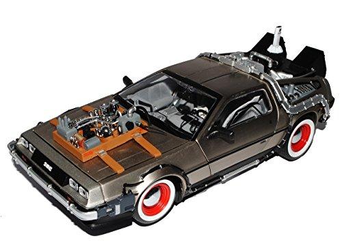 de Lorean Delorean Back To Future ZurÜck in Die Zukunft 1/18 Sun Star Sunstar Sunstar Modellauto Modell Auto
