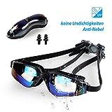infinitoo Schwimmbrille Antibeschlag UV-Schutz Unisex Schwimmbrillen für Erwachsene Jugendliche mit...