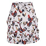 Datingday Chicken Egg Farm Eggs Gathering Collecting Apron Pocket Perfect for Holding Multiple Egg,B/12 Pockets